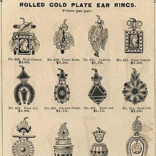 "Scarce 1880 ""E. V. Roddin & Co. Jewelers Price List"" Chicago, IL Catalog 114pp"
