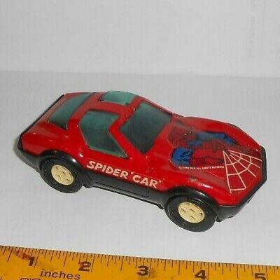Awesome 1980 Buddy L Diescast Corvette Stingray Spiderman VG True Vintage
