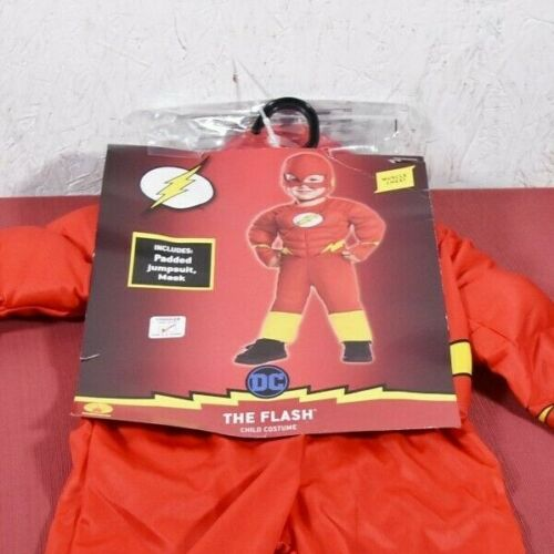 Halloween Costumes- DC Comics Justice League The Flash Costume Toddler 2T-3T