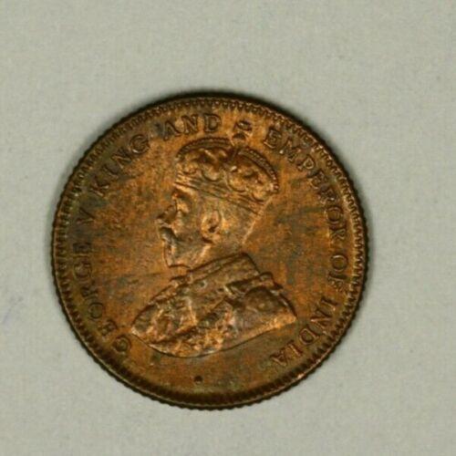 Straits Settlements 1/4 Cent  1916  AU    A881