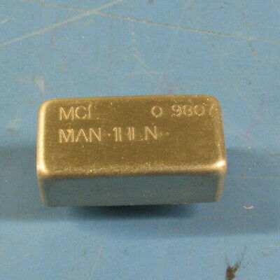 Two Mini-circuits Man-1hln Plug-in 10-500mhz Amplifier 10db Gain 12vdc