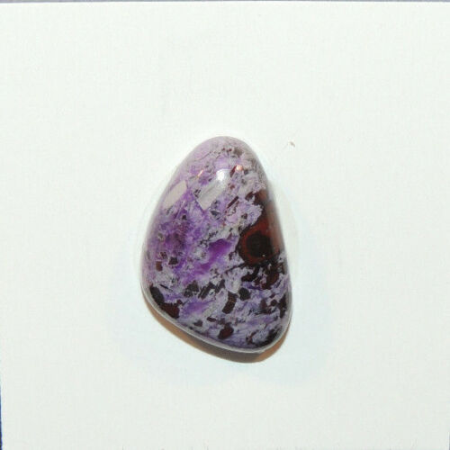 Sugilite Cabochon 20x13.5mm with 6mm dome (13501)