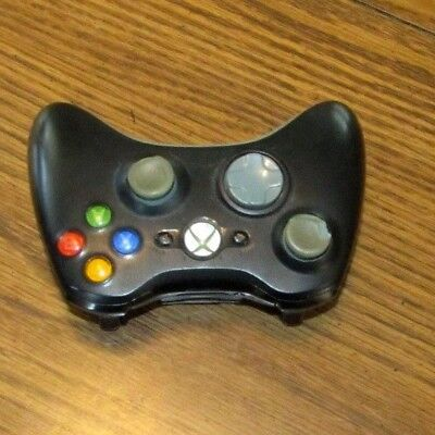Xbox 360 Microsoft  Black Wireless Controller, for sale  Shipping to India