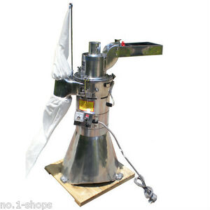 Automatic-continuous-Hammer-Mill-Herb-Grinder-pulverizer-machine-25KG-per-hour
