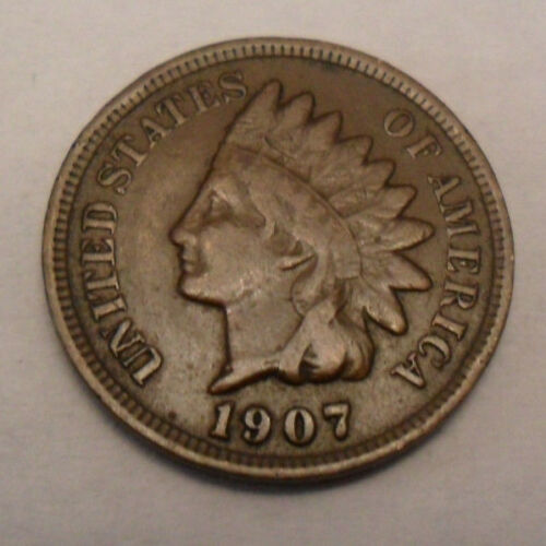1907 P Indian Head Cent / Penny  SDS  **FREE SHIPPING**