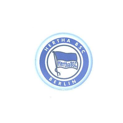 Fussball Schriftzug und Logo Hertha BSC Berlin Magnet Set