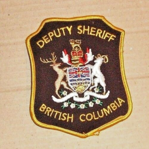 Deputy Sheriff British Columbia Patch - OBSOLETE??