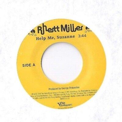 RHETT MILLER Help Me Suzanne / Question 45 RECORD VERVE FORECAST PROMO