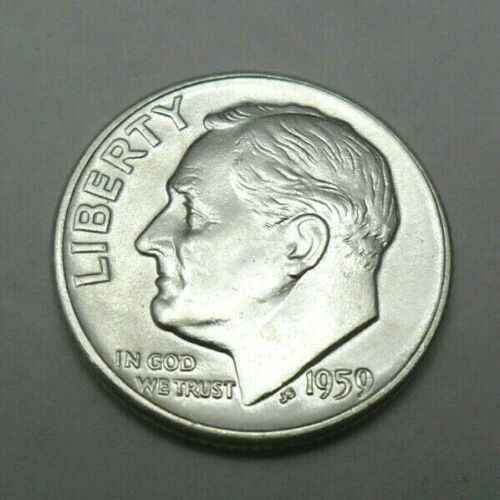 1959 D ROOSEVELT DIME  *BU - BRILLIANT UNCIRCULATED*  **FREE SHIPPING**