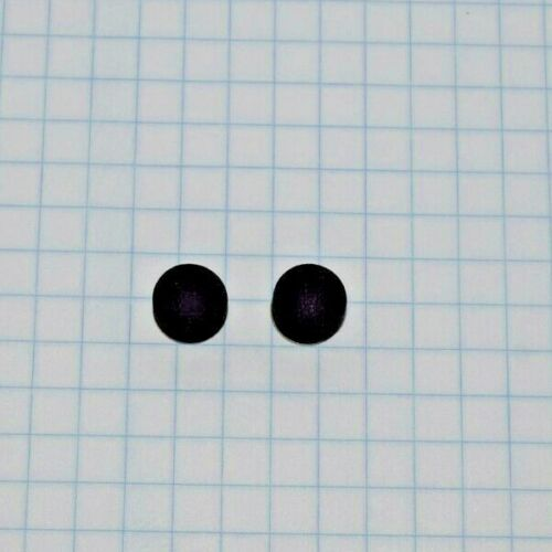 Universal Water Key Pad, Black, Non-Compressing, Adhesive Back, Set of 2