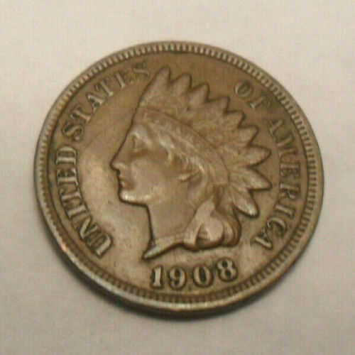 1908 P Indian Head Cent Penny  *AG OR BETTER*  **FREE SHIPPING**