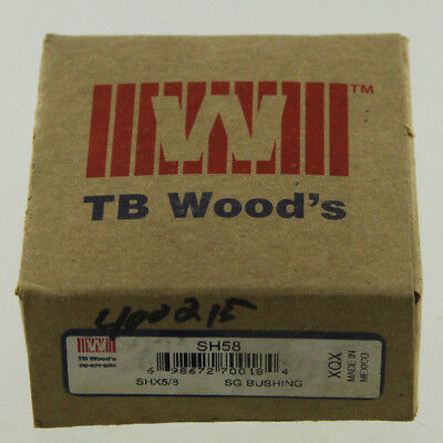 TB WOODS SH-5/8 BUSHING NEW