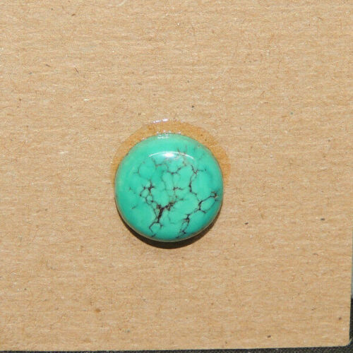Turquoise Cabochon 12mm with 4.5mm dome from Nevada (17560)