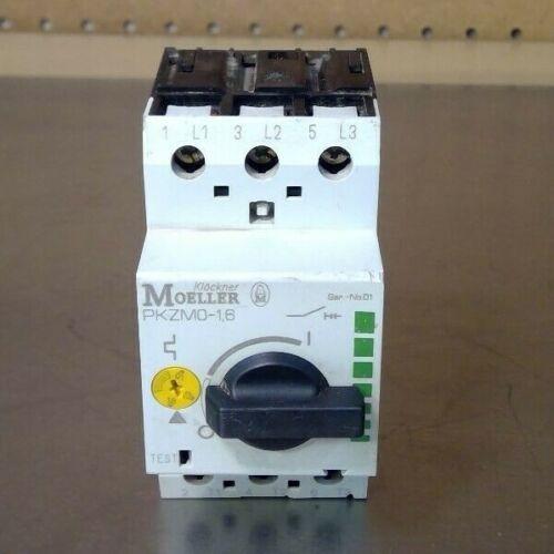 Klockner Moeller PKZMO-1.6 Contactor Motor Protector                        4D