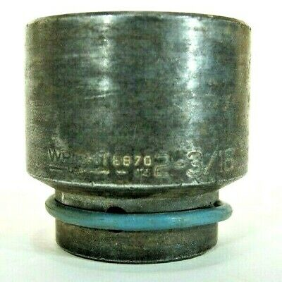 Wright Tools Standard 2-316 Impact Socket 1 Drive 6 Point 8870
