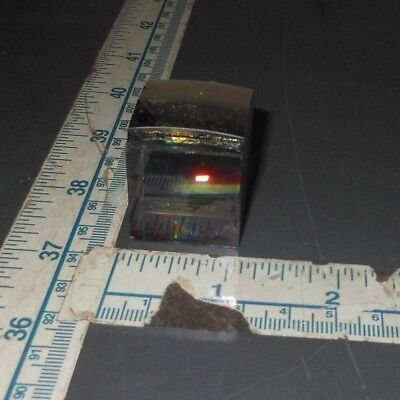 Optics Cube Prism Research Dispersion Refraction