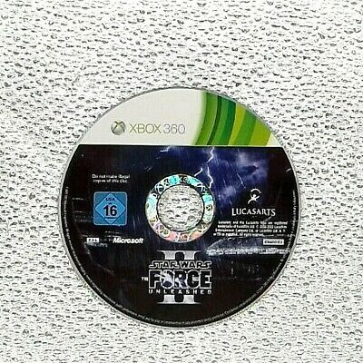 Star Wars: The Force Unleashed II (Microsoft Xbox 360, 2010) DISC ONLY , TESTED