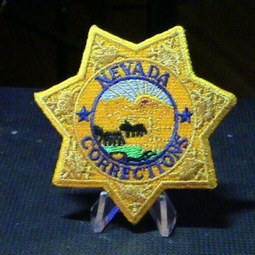 Patch Retired: Nevada Corrections Badge Patch