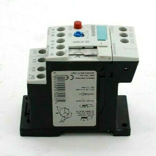 Siemens 3RU1116-0GB0 Overload Relay