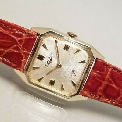 LONGINES VINTAGE MEN'S 10K GOLD FILLED HAND WIND CLASSIC  WATCH 1960
