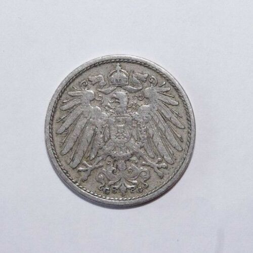 1901 G, 10 Pfennig Germany Value Coin