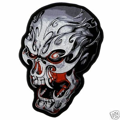 Electric Skull Patch 11 inch (XXL)