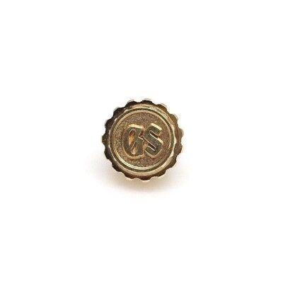 Vintage NOS GS Grand Seiko 6146-8009 6145-8010 Crown Gold color 6146 -8030 8040