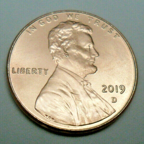 2019 D Lincoln Shield Cent / Penny  **FREE SHIPPING**