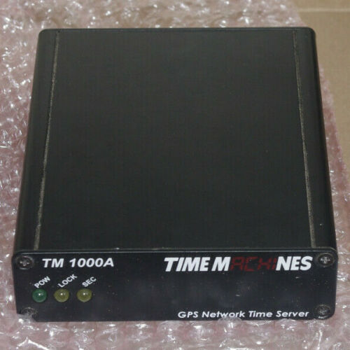 Time Machines GPS network time server TM1000A open box