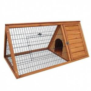 NEW Triangle Rabbit Ferret Guinea Pig Hutch Coop - LAST ONE Castle Hill The Hills District Preview