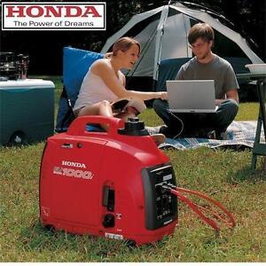 USED HONDA 1000W INVERTER GENERATOR - 114728330 - SUPER QUIET 49 cc GAS POWER EQUIPMENT PORTABLE INVERTERS GENERATORS...