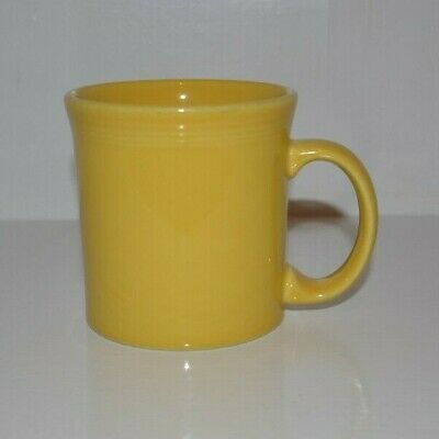 Fiesta Sunflower Java Mug 12 oz. Yellow Coffee Cup