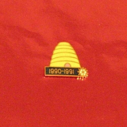 Rotary International Pin     BEEHIVE   1990-1991