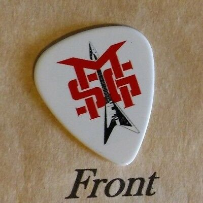 MICHAEL SCHENKER GROUP band logo signature guitar pick -(w)