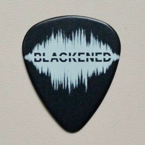 Metallica - LIMITED Blackened Whiskey black pick Worldwired Tour 100% Authentic