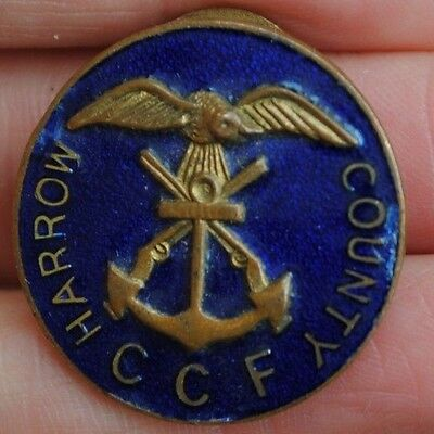 Harrow county CCF badge