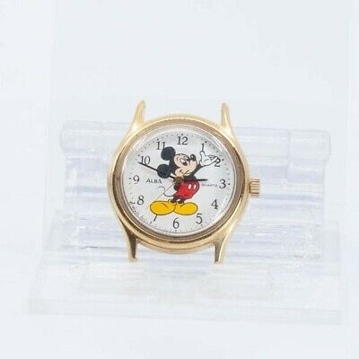 SEIKO ALBA QUARTZ MICKEY MOUSE WALT DISNEY V811-0250 WATCH