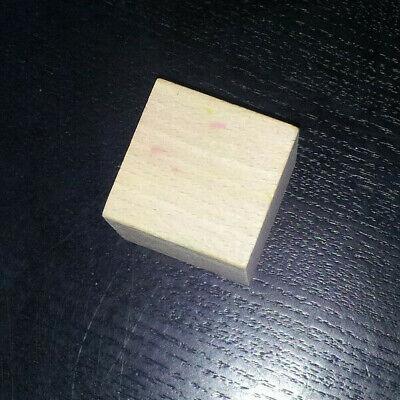 Holzspielzeug Würfel 4 cm hoch aus Buchenholz Marke Haba  zum Murmelspiel Bauklötze
