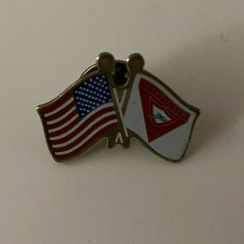 Vintage Junior Missionary Volunteer JMV Lapel Pin - SDA Pathfinders Club