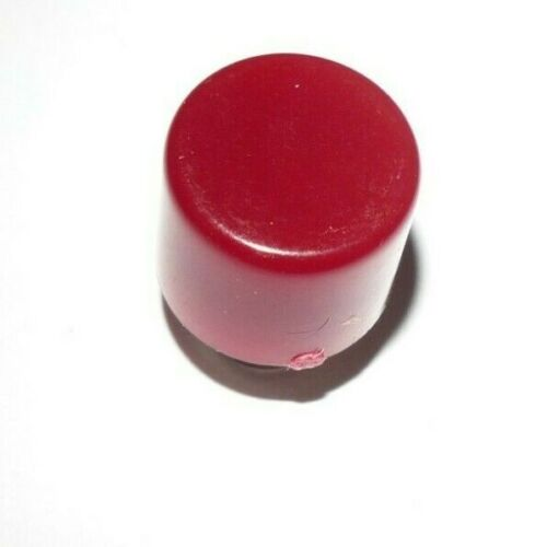 RED  DIALIGHT Dialco  Lens Cover  - Threaded . Vintage.  140-1471 NOS