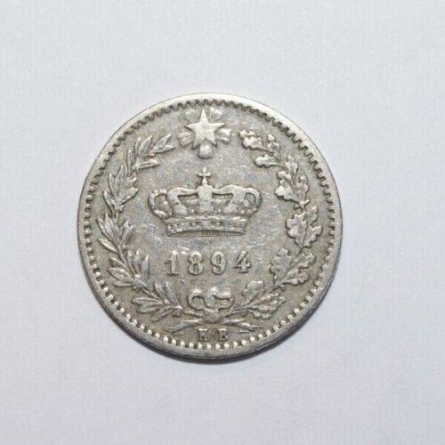 1894, 20 Centesimi Italy a High Value Coin