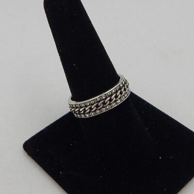 Brighton CHAIN REACTION Ring  Size 9 Swarovski Crystals J61262 NWT