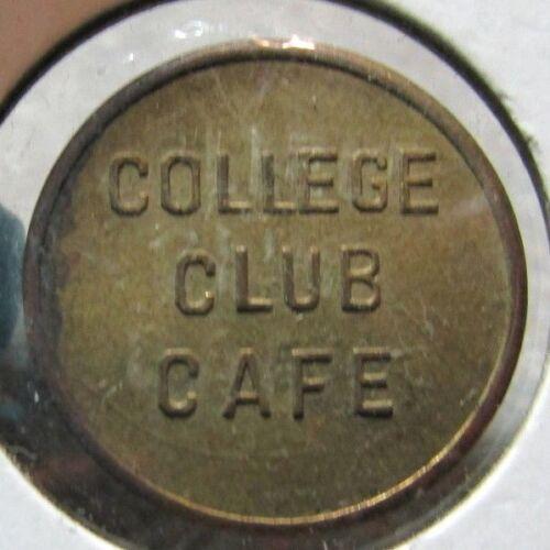 Vintage College Club Cafe Minneapolis, MN 5c Trade Token - Minnesota Minn.