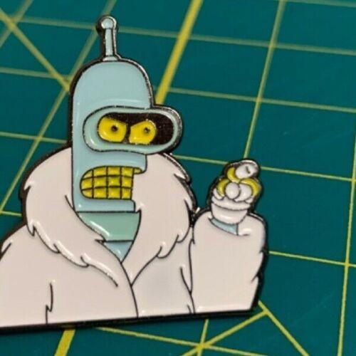 Futurama - Bender - soft enamel pin