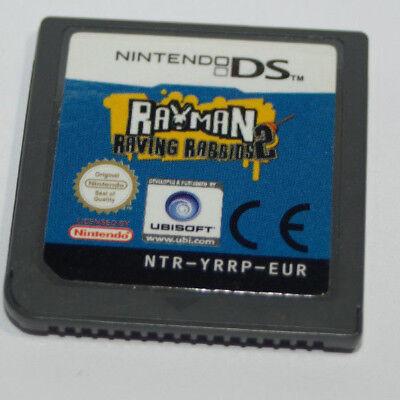 Jeu vidéo cartouche seule Rayman Raving Rabbids 2 Nintendo DS compatible 3DS