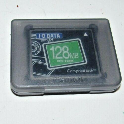 I-0 Data Compact Flash Memory Card 128mb