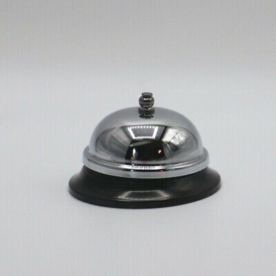 Chrome Ring For Service Call Bell For Retail Restaurant Hotel Reception Desk
