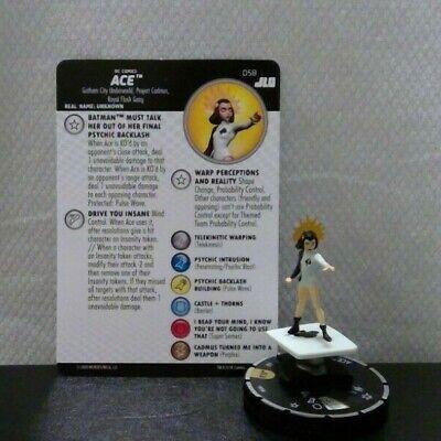 Ace 058 HeroClix - Unplayed - Justice League Unlimited Super Rare!!!