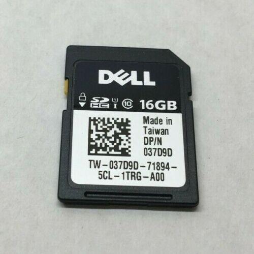GENUINE DELL 16GB vFLASH CLASS 10 HC SECURE DIGITAL SD CARD 7GH0Y H1H8M
