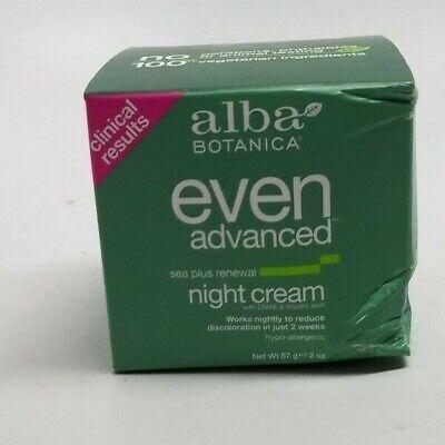 Alba Botanica Natural Even Advanced Sea Plus Renewal Night Cream 2 oz Alba Sea Plus Renewal Cream